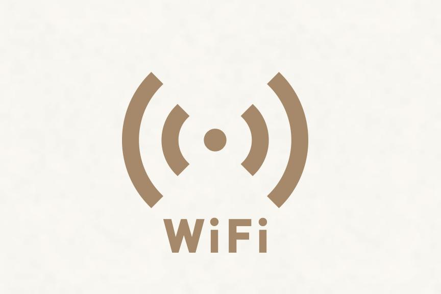 Wi-fi 全室完備