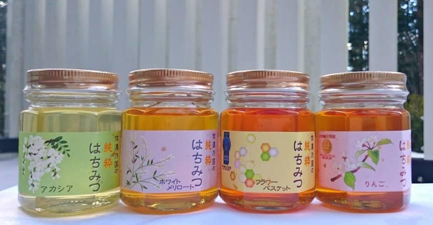 更科養蜂苑のはちみつ