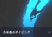久米島のダイビング